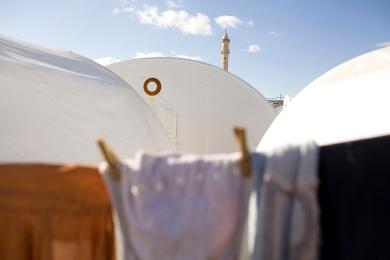 Syria Refugees Turkey Border Camp 001